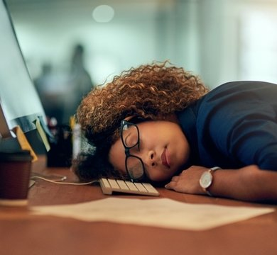 Is sleeping on the job a valid idea?